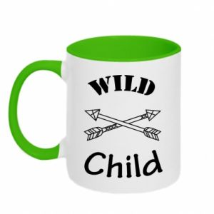 Kubek dwukolorowy Wild child
