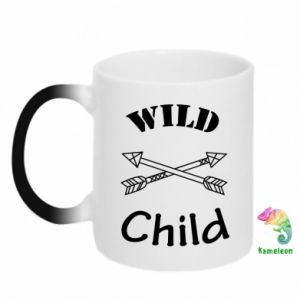 Kubek-kameleon Wild child