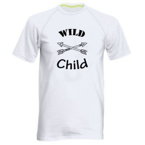 Men's sports t-shirt Wild child