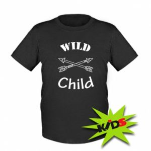 Kids T-shirt Wild child
