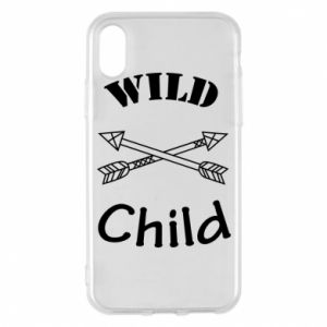 Phone case for iPhone X/Xs Wild child