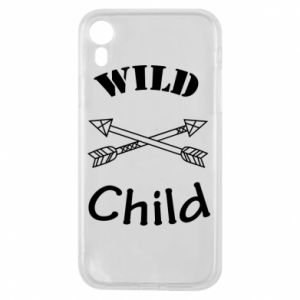 Etui na iPhone XR Wild child