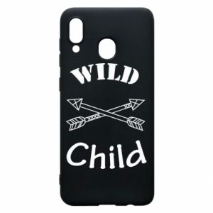 Etui na Samsung A20 Wild child
