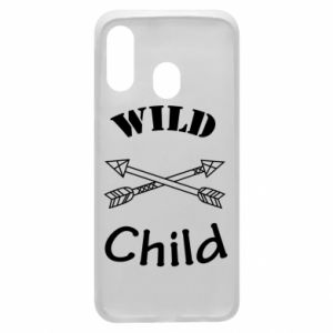 Phone case for Samsung A40 Wild child