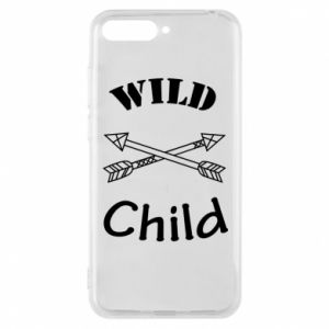 Etui na Huawei Y6 2018 Wild child