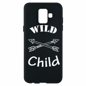 Phone case for Samsung A6 2018 Wild child