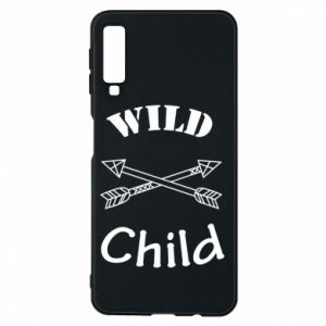 Etui na Samsung A7 2018 Wild child