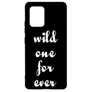 Etui na Samsung S10 Lite Wild one for ever
