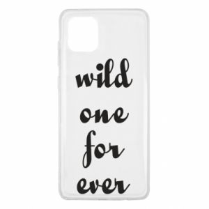 Etui na Samsung Note 10 Lite Wild one for ever