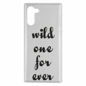 Etui na Samsung Note 10 Wild one for ever