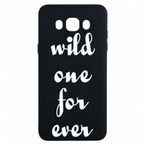 Etui na Samsung J7 2016 Wild one for ever