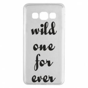 Etui na Samsung A3 2015 Wild one for ever