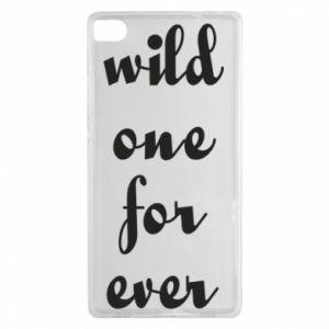 Etui na Huawei P8 Wild one for ever
