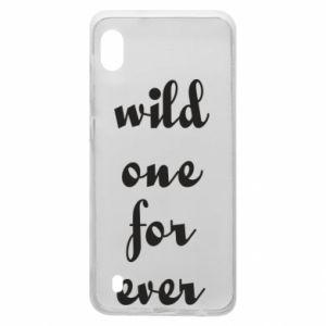 Etui na Samsung A10 Wild one for ever
