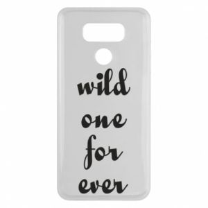 Etui na LG G6 Wild one for ever