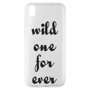 Etui na Huawei Y5 2019 Wild one for ever