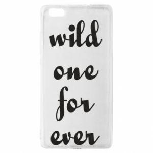 Etui na Huawei P 8 Lite Wild one for ever