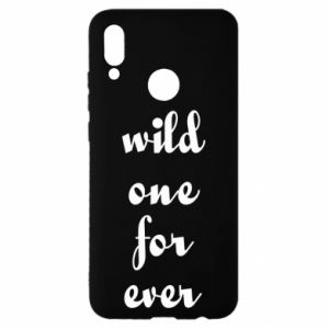 Etui na Huawei P Smart 2019 Wild one for ever