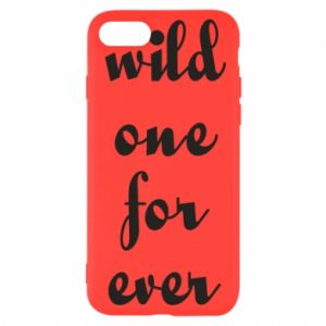 Etui na iPhone SE 2020 Wild one for ever