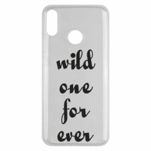 Etui na Huawei Y9 2019 Wild one for ever
