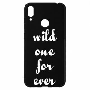 Etui na Huawei Y7 2019 Wild one for ever