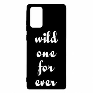 Etui na Samsung Note 20 Wild one for ever