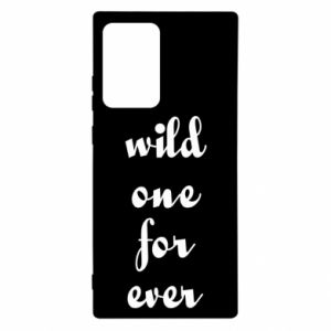 Etui na Samsung Note 20 Ultra Wild one for ever