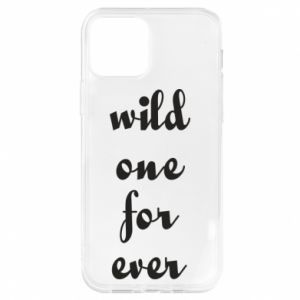 Etui na iPhone 12/12 Pro Wild one for ever