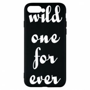Etui na iPhone 8 Wild one for ever