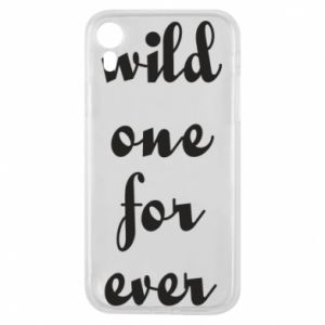 Etui na iPhone XR Wild one for ever