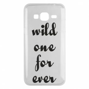 Etui na Samsung J3 2016 Wild one for ever