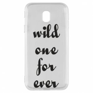 Etui na Samsung J3 2017 Wild one for ever