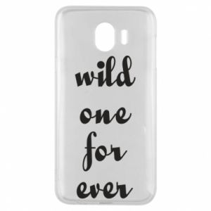 Etui na Samsung J4 Wild one for ever