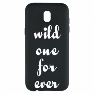 Etui na Samsung J5 2017 Wild one for ever