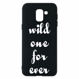 Etui na Samsung J6 Wild one for ever