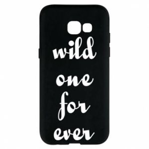 Etui na Samsung A5 2017 Wild one for ever
