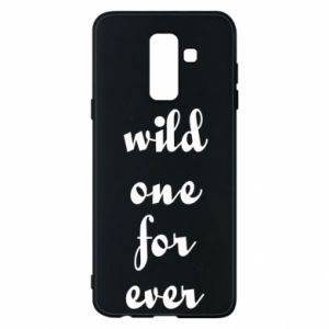 Etui na Samsung A6+ 2018 Wild one for ever