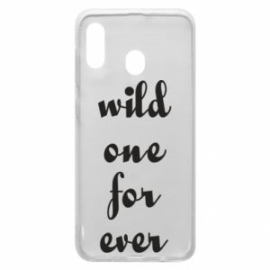 Etui na Samsung A20 Wild one for ever