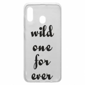 Etui na Samsung A30 Wild one for ever