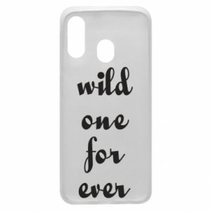 Etui na Samsung A40 Wild one for ever