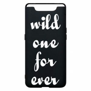 Etui na Samsung A80 Wild one for ever