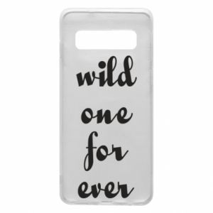 Etui na Samsung S10 Wild one for ever