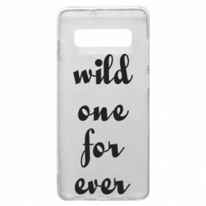 Etui na Samsung S10+ Wild one for ever