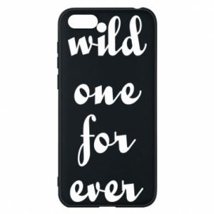 Etui na Huawei Y5 2018 Wild one for ever
