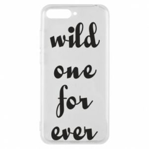 Etui na Huawei Y6 2018 Wild one for ever