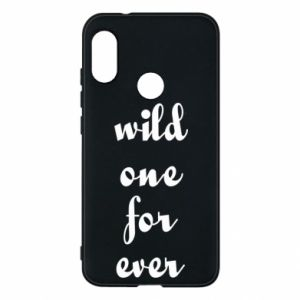 Etui na Mi A2 Lite Wild one for ever