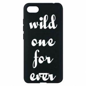Etui na Xiaomi Redmi 6A Wild one for ever