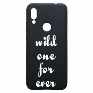 Etui na Xiaomi Redmi 7 Wild one for ever