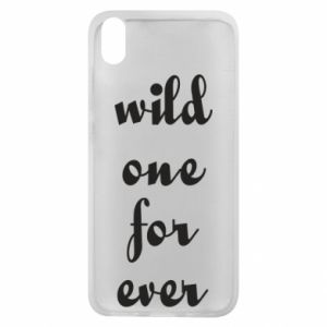 Phone case for Xiaomi Redmi 7A Wild one for ever