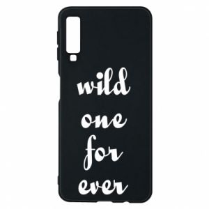 Etui na Samsung A7 2018 Wild one for ever